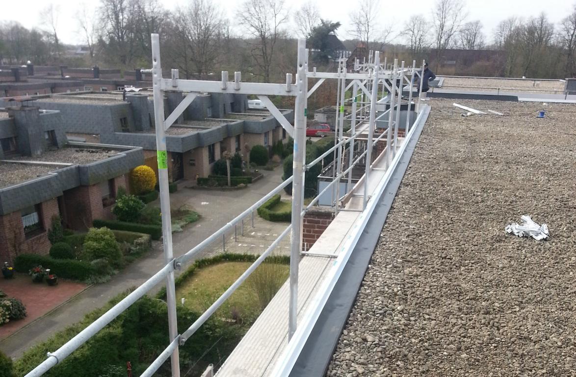 Flachdachsanierung – Dachdecker Deipenbrock Münster