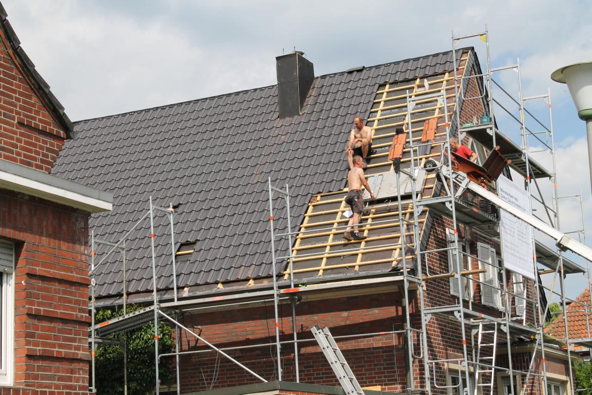 Steildachsanierung - Dachdecker Deipenbrock Münster